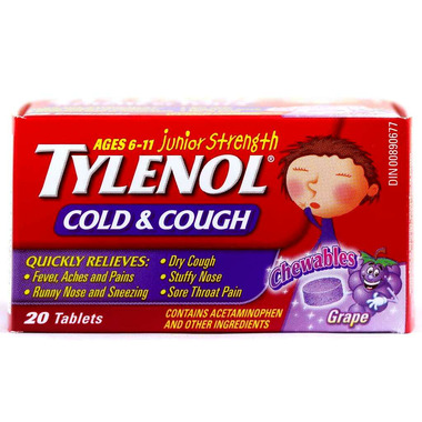 Buy Tylenol Junior Strength Cold & Cough at Well.ca Free Shipping $35+ in Canada
