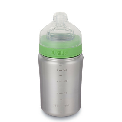 Klean Kanteen Kid Kanteen Baby Bottle 9 oz with Medium Flow Nipple
