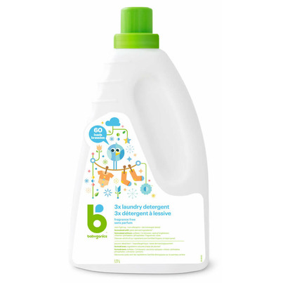 babyganics 3x Concentrated Laundry Detergent Fragrance Free