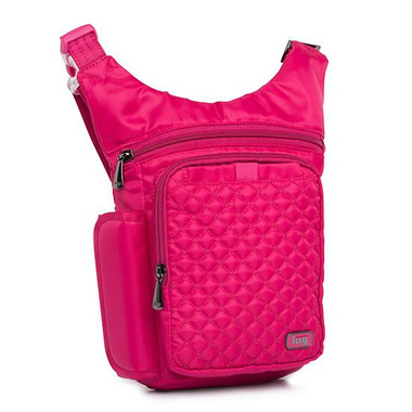 Lug Hopper Hip Pouch Rose Pink