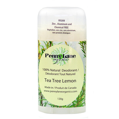 Buy Penny Lane Organics Natural Deodorant Tea Tree Lemon