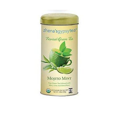 Zhena\'s Gypsy Tea Mojito Mint Tropical Green Tea