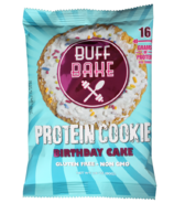 Buff Bake Protein Cookie Birthday Cake Almond Butter