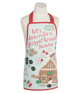 Now Designs Gingerbread House Apron for Kids