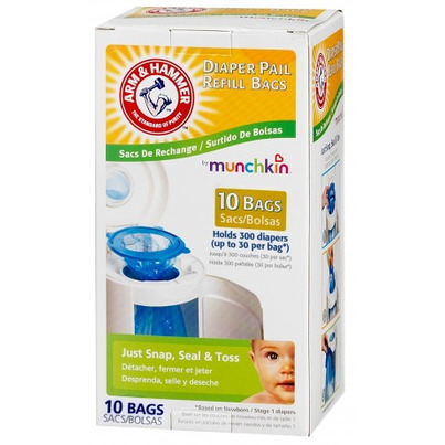 diaper pail refill bags munchkin mega deals and coupons. Black Bedroom Furniture Sets. Home Design Ideas