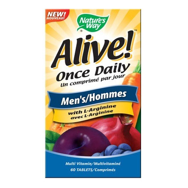 Nature\'s Way Alive! Once Daily Men\'s Multivitamin