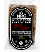 K's NRG Whole Food Energy Bar Cherry
