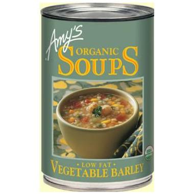 Amy\'s Organic Vegetable Barley Soup