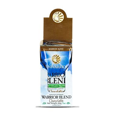 Sun Warrior Warrior Protein Blend Single Serve Packs Chocolate