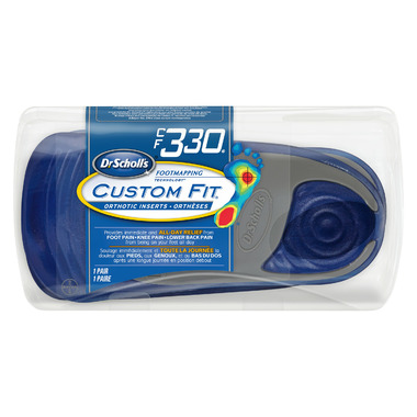 Dr. Scholl\'s Custom Fit Orthotic Inserts CF 330