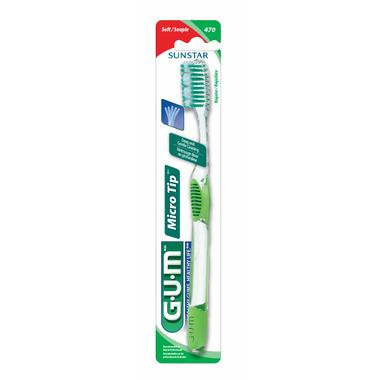 GUM Micro Tip Full Head Toothbrush - Soft