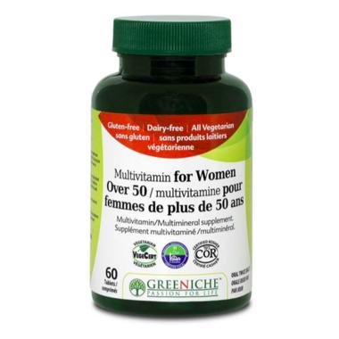 Greeniche Multivitamin for Women Over 50