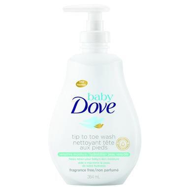 Baby Dove Rich Sensitive Moisture Tip to Toe Wash