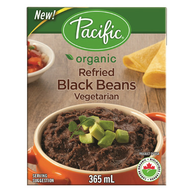 Pacific Organic Refried Black Beans