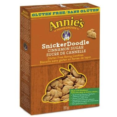 Annie\'s Homegrown SnickerDoodle Cinnamon Sugar Bunny Cookies