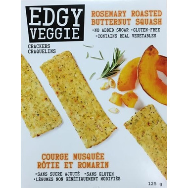 Edgy Veggie Crackers Rosemary Roasted Butternut Squash