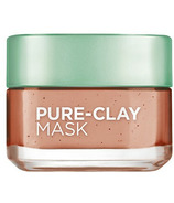 L'Oreal Skin Experts Pure-Clay Treatment Mask Exfoliate and Refine Pores