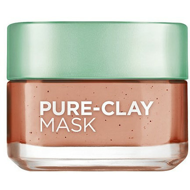 L\'Oreal Skin Experts Pure-Clay Treatment Mask Exfoliate and Refine Pores