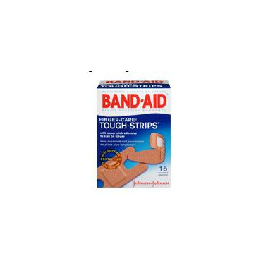 Band-Aid Tough Strips Finger Care