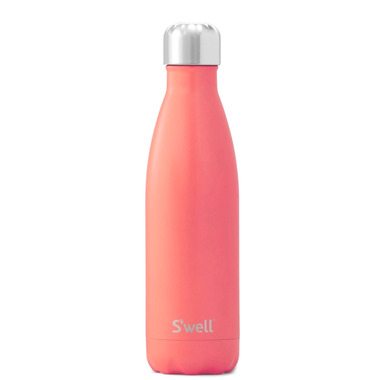 S\'well Satin Collection Stainless Steel Water Bottle Birds of Paradise