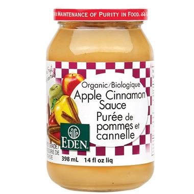 Eden Foods Organic Apple Cinnamon Sauce