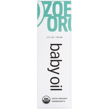 Zoe Organics Baby Oil
