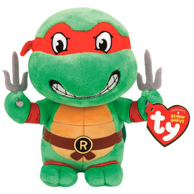 Ty Teenage Mutant Ninja Turtles Raphael Red Mask Regular