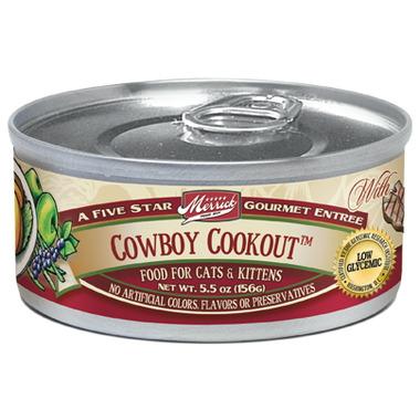 Merrick Gourmet Entree Cat Food - Cowboy Cookout