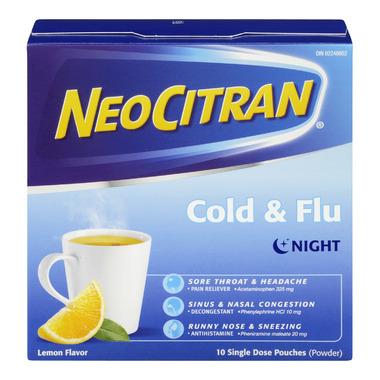 NeoCitran Cold & Flu Night