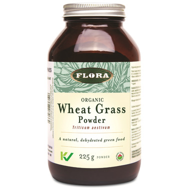 Flora Wheat Grass Powder