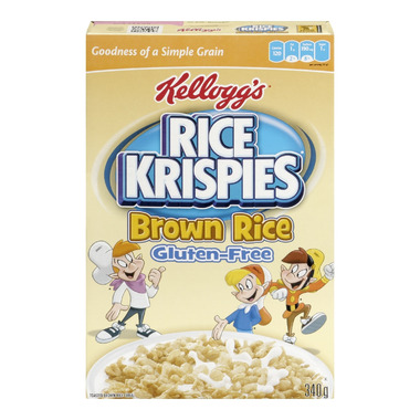 Kellogg\'s Rice Crispies Brown Rice Cereal