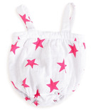 aden + anais Romper Shocking Pink Medium Star