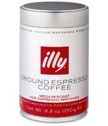 illy Ground Espresso Coffee