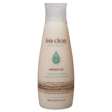 Live Clean Argan Oil Restorative Shampoo