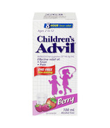 Advil Children's Suspension Dye Free Berry