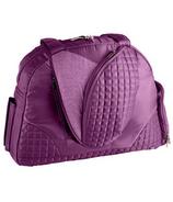 Lug Cartwheel Classic Fitness/Overnight Bag Plum Purple