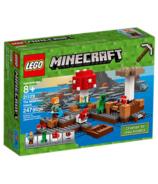 LEGO Minecraft The Mushroom Island