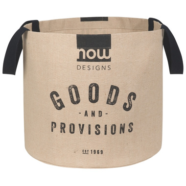 Now Designs Jute Display Basket Goods and Provisions