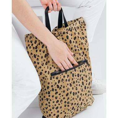 Baggu Tote Pack in Leopard