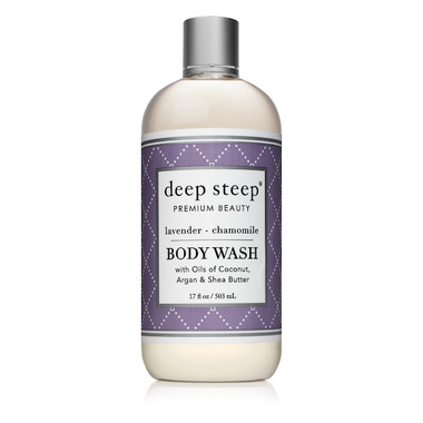 Deep Steep Classic Body Wash Lavender Chamomile