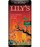 Lily's Sweets Dark Chocolate Bar Almond