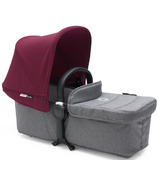 Bugaboo Donkey2 Twin Pram Body Fabric Set Grey Melange
