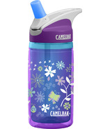 Camelbak Kids Eddy Insulated Water Bottle Purple Flowers