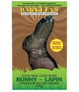 Barkley's All Natural Solid Milk Chocolate Bunny