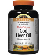 Holista Cod Liver Oil Vitamin A & D