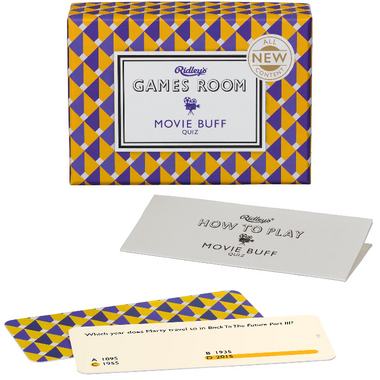 Ridley\'s Game Room Movie Buff Quiz Volume 2