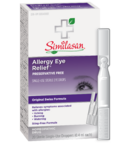 Similasan Allergy Eye Relief Single-Use Droppers