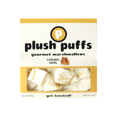 Plush Puffs Caramel Swirl Gourmet Marshmallows