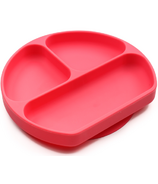 Bumkins Red Silicone Grip Dish