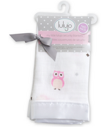 Lulujo Baby Muslin Cotton Security Blankets